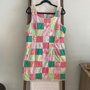 Vintage Lilly Pulitzer classic patchwork dress